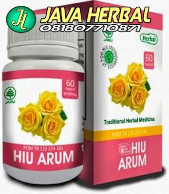 hiu arum obat herbal penghilang bau badan tak sedap