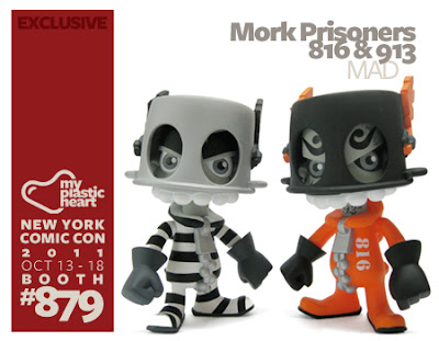 Pobber Toys - The Mork Twins (Prisoner 816 & 913) Vinyl Figures by MAD