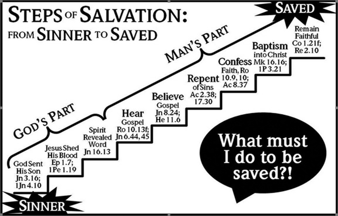 God through the death of his son Jesus Christ on the cross had provided a saving grace for everyone that freely accepts it.