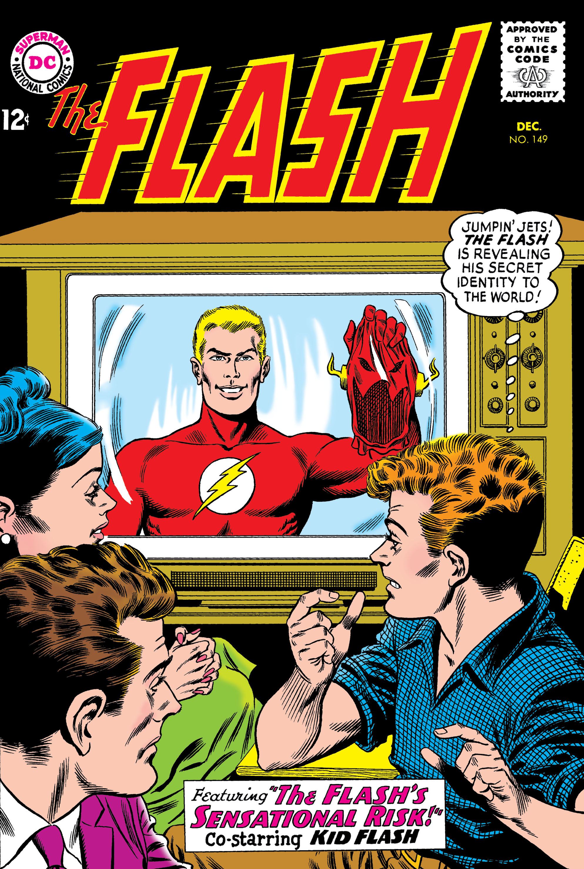 The Flash (1959) issue 149 - Page 1