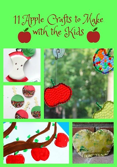 Apple Crafts to Make with the Kids