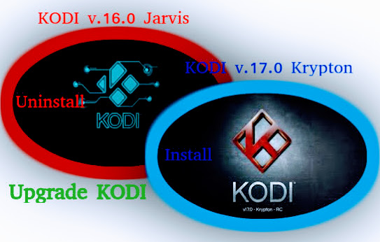 Upgrade KODI