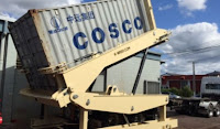 Container unloader for Sugar Industry Nestle Singapore