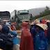 Nóng: Ngư dân Đông Yên, Kỳ Lợi đội mưa biểu tình chặn Quốc Lộ 1A 14/1/2017
