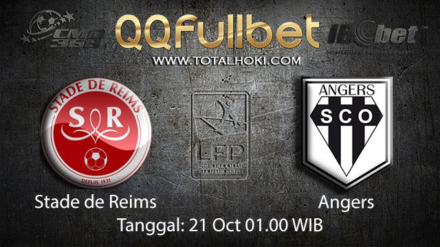 Prediksi Bola Jitu Stade de Reims vs Angers 21 Oktober 2018 ( French Ligue 1 )