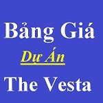 Bảng giá dự án the vesta
