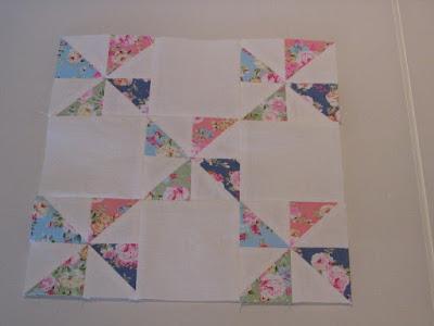 Pinwheel pachtwork blok