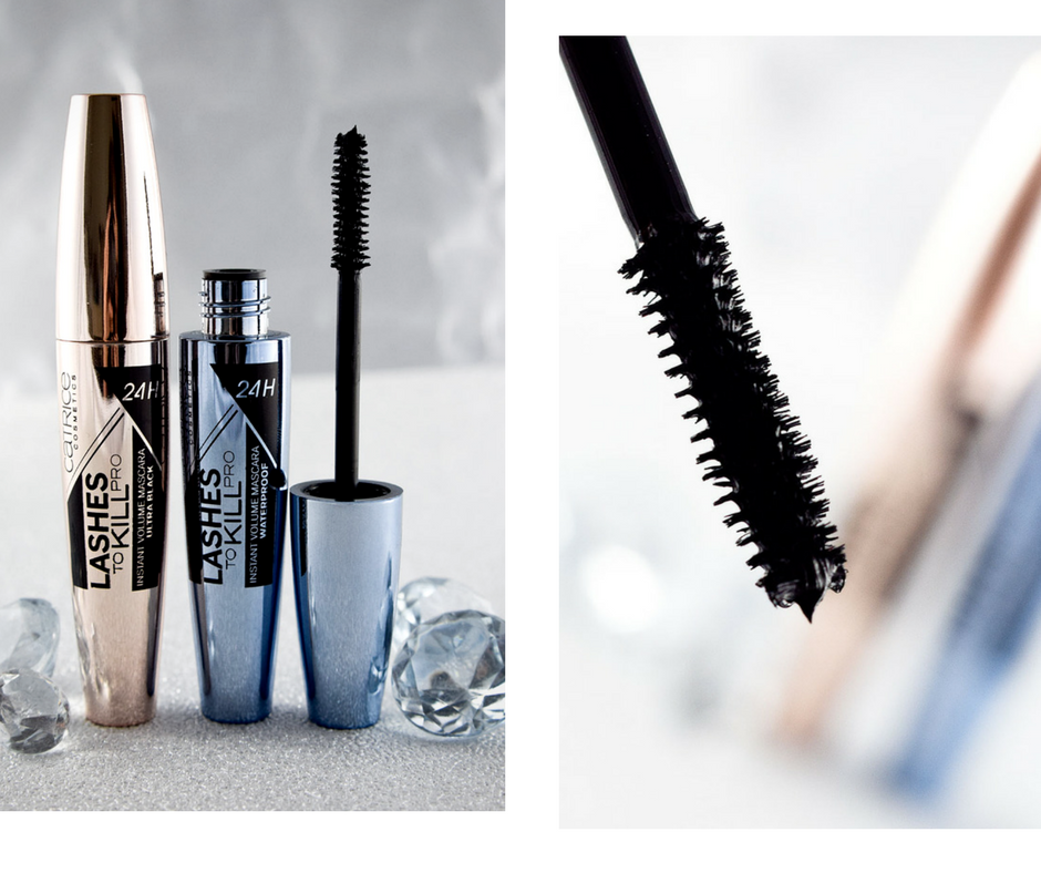 Catrice neues Sortiment  Frühjahr Sommer 2018,Catrice Lashes to Kill Pro Instant Volume Mascara 24 h, swatch