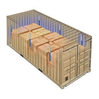 bố trí dây chống ẩm container