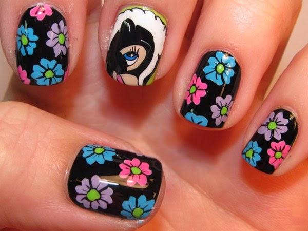 Decoracion de uñas para niña 2016