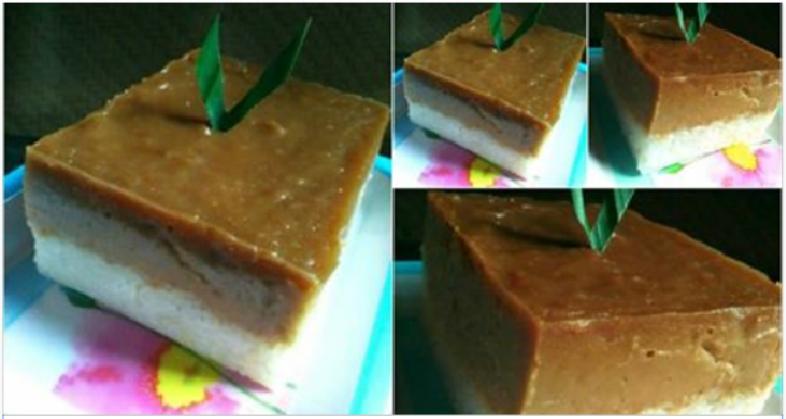 Resep Membuat Kue Talam Ketan Gula Merah yang Manis dan Legit