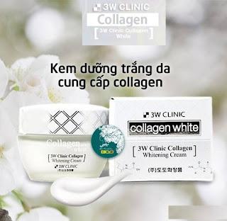 Giá kem 3W Clinic Collagen Whitening Cream bao nhiêu