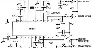 Build a Bass-Treble Tone Control Circuit Diagram
