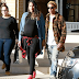 Singer Pharrell Williams And His Pregnant Wife , Helen Steps Out In LA [PHOTO]
