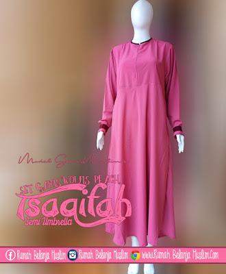 Gamis Muslimah Tsaqifah Peach
