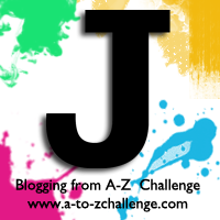 J is for Jet Black #AtoZChallenge