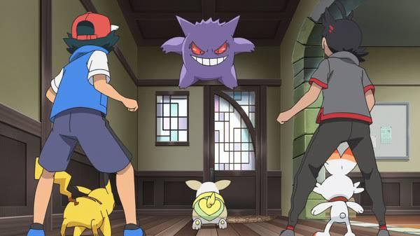 Capitulo 11 Serie Viajes Pokémon: Koharu, Yamper y, a veces, también Gengar