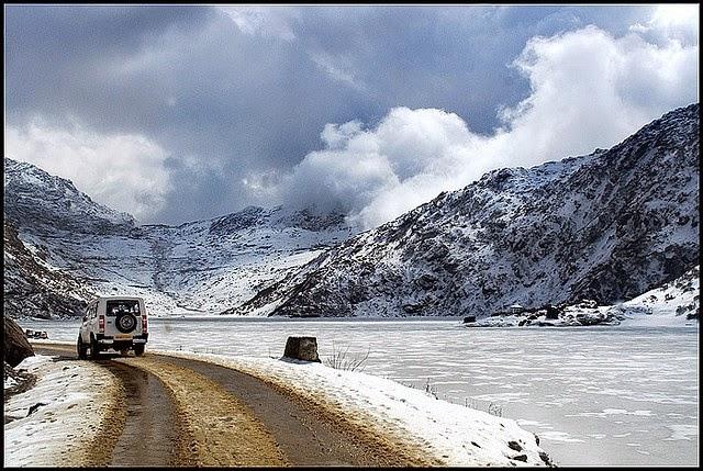 Image result for images of Gangtok to Lake Tsomgo and Nathu-La Pass