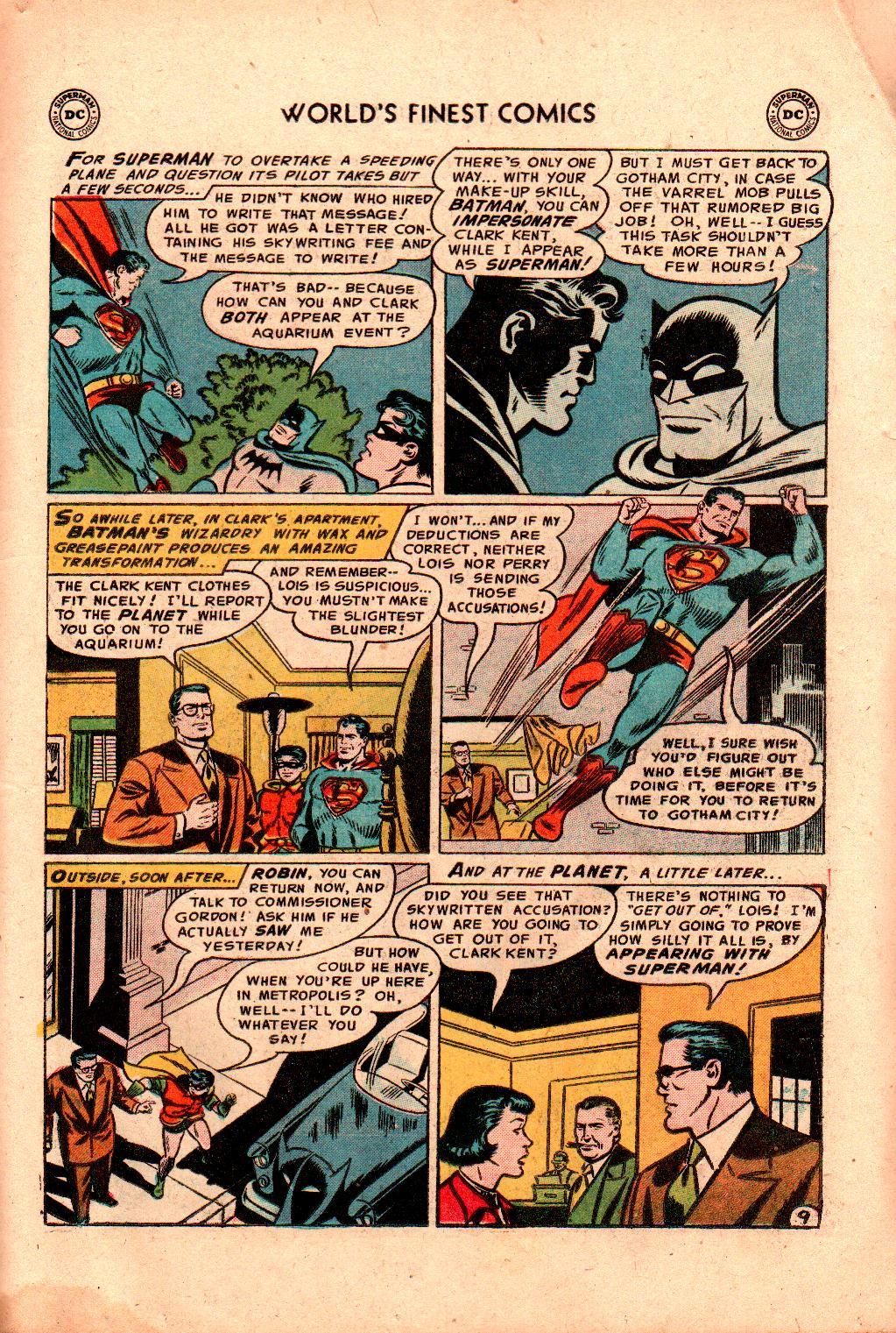 Read online World's Finest Comics comic -  Issue #78 - 11