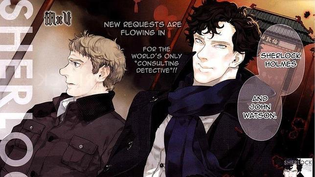 Adaptación de Sherlock en manga