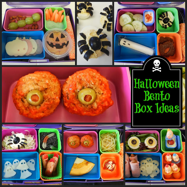 Creepy Party Food Low Carb Happy Halloween Lunches
