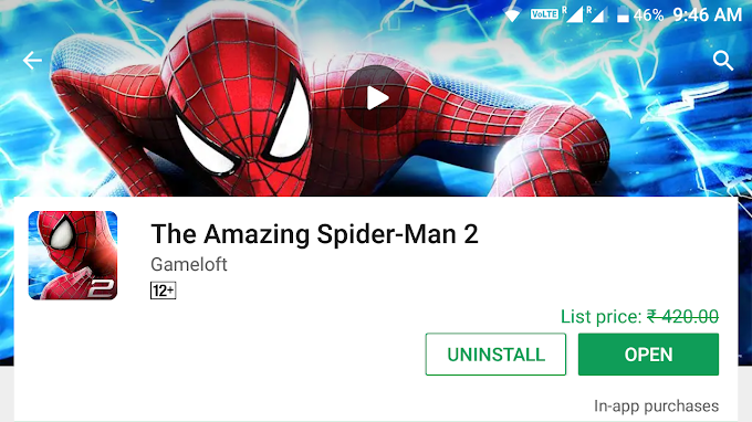 The amazing spiderman 2 android game free download