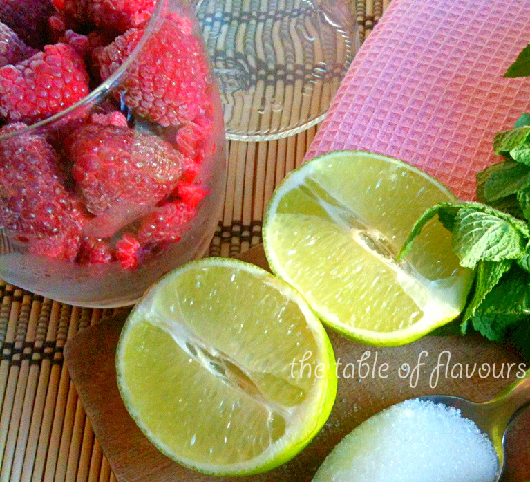 The Table Of Flavours: Raspberry Mojito