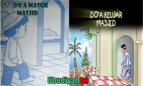 Bacaan Doa Masuk Dan Keluar Masjid Lengkap Dengan Artinya