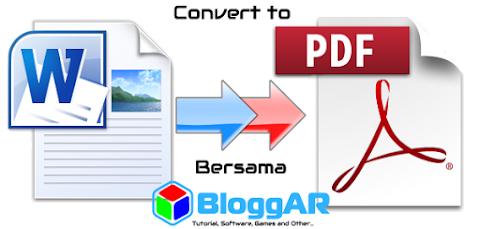 Convert Dokumen Word ke PDF Secara Offline dengan Microsoft Office Word 2010