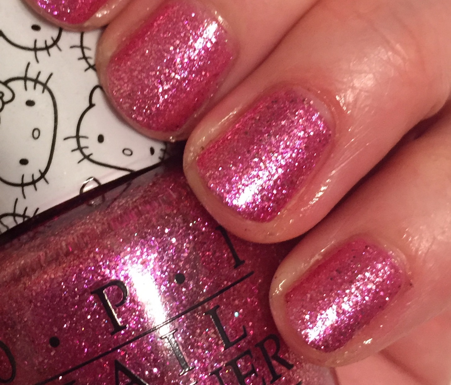 Opi Starry Eyed For Dear Daniel Hello Kitty Collection Nails