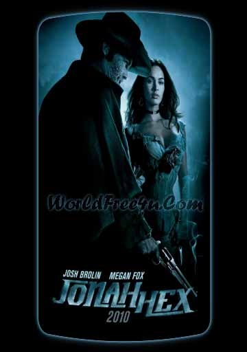 Poster Of Jonah Hex In Dual Audio Hindi English 300MB Compressed Small Size Pc Movie Free Download Only At worldfree4u.com