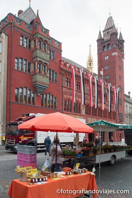 Rathaus o ayuntamiento de Basilea
