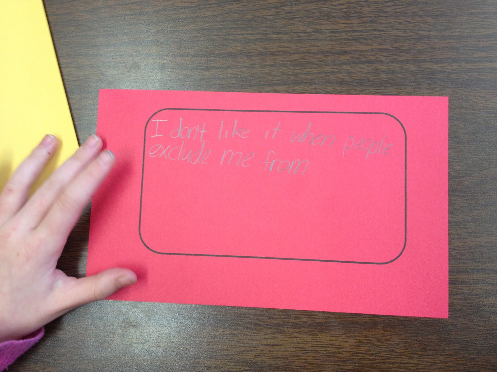 Ms Sepp S Counselor Corner 2nd Grade Friendship Troubles