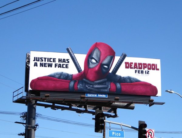 Daily Billboard Deadpool Movie Billboards Advertising For Movies