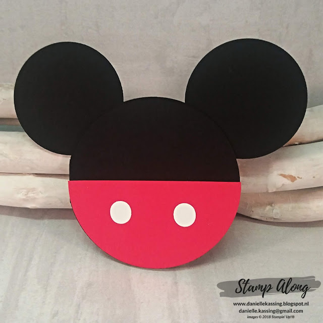 Stampin' Up! Mickey Mouse