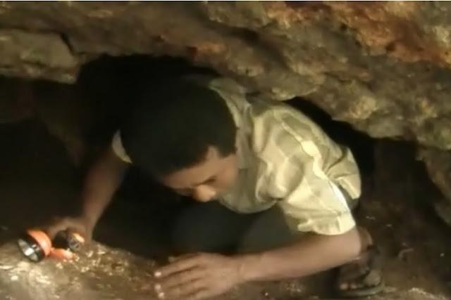 Pencari Batu Akik Temukan Lorong Raksasa di Perut Bumi