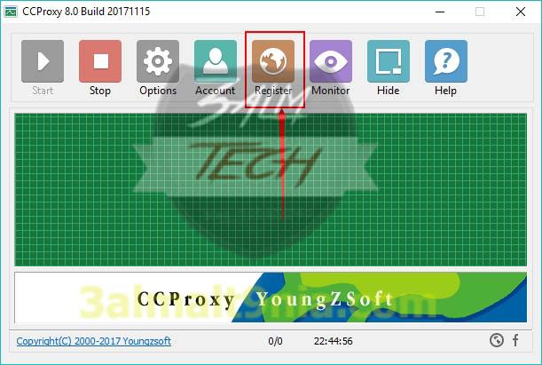 تحميل برنامج CCProxy  لتوزيع سرعه الانترنت مجانا اخر اصدار مع التفعيل - عالم التقنيه