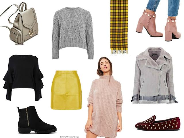 Autumn fashion wishlist