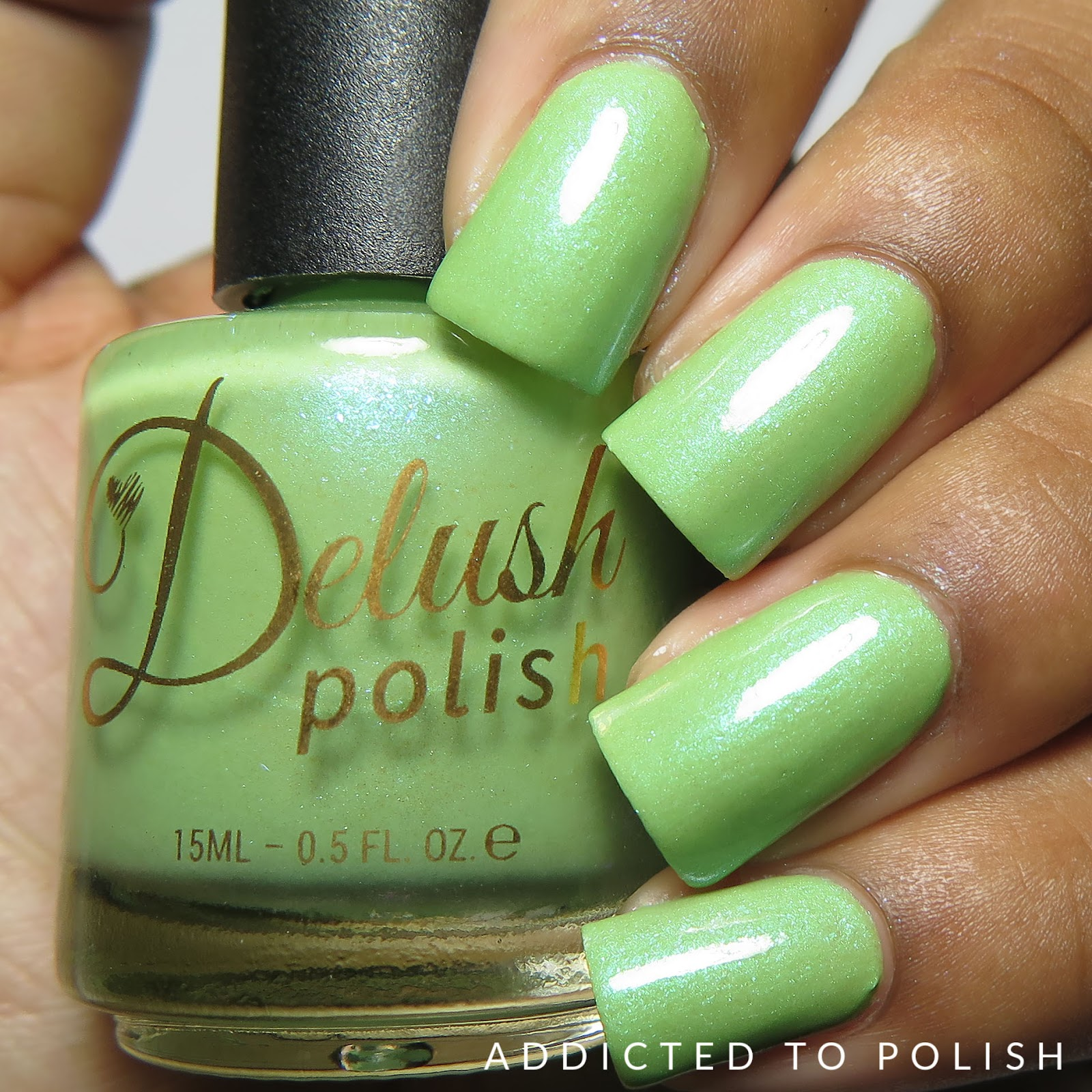 Delush Polish Everything I Do I Tiramisu High and Mightea Spring 2016 collection