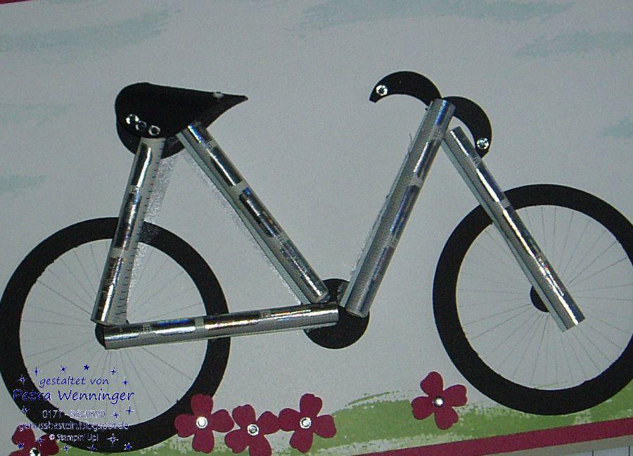 genussbasteln geld f r ein fahrrad offensichtlich verpackt. Black Bedroom Furniture Sets. Home Design Ideas