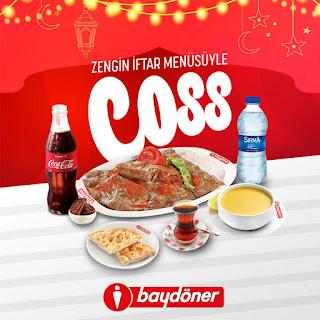 baydöner ramazan 2019 iftar menü ve fiyatları