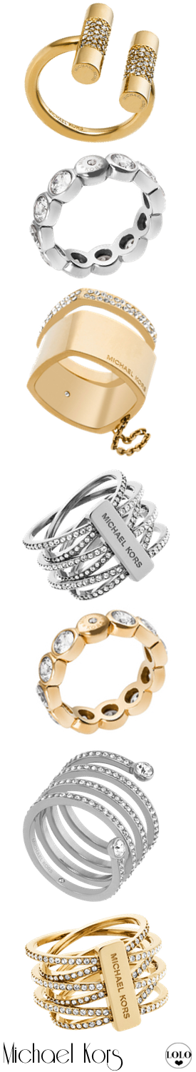 Michael Kors Assorted Rings