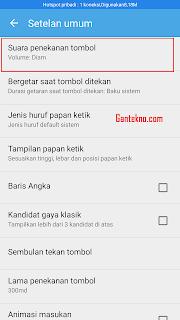 Cara Mudah Membuat Keyboard Android Bersuara Ketika Diketik