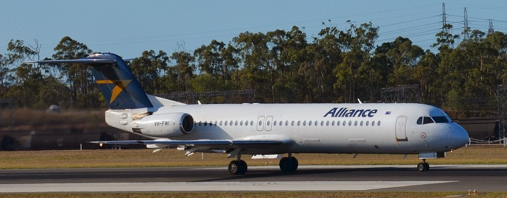 Central Queensland Plane Spotting: A Triple Treat of Alliance