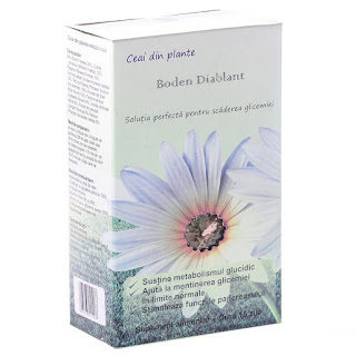 Comanda de aici ceaiul Diabplant 125 gr pt glicemie