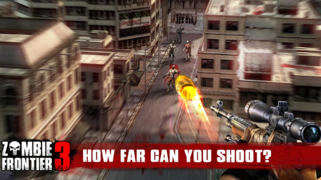 Best FPS Shooting Games for Android apk Free Download Zombie Frontier 3