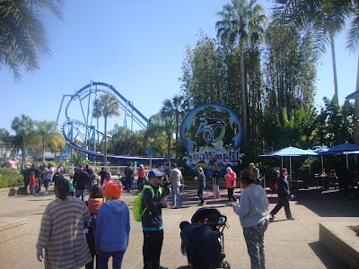 Entrada do Sea World, em Orlando - FL