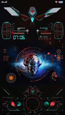 Robot Theme V2 itz For Vivo