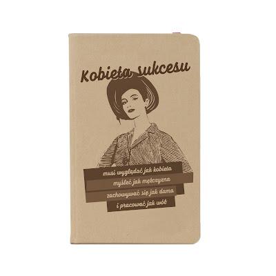 Notesik Spod Lady Kobieta sukcesu