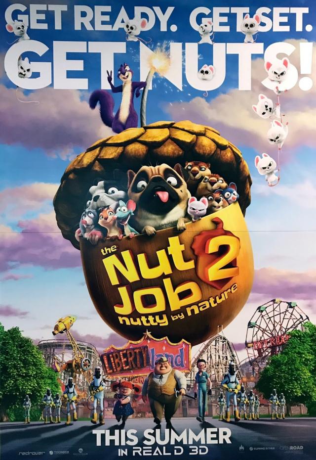 Phi Vụ Hạt Dẻ 2: Công Viên Đại Chiến - The Nut Job 2: Nutty by Nature (2017)